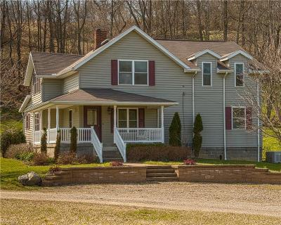 Guernsey County Single Family Home For Sale: 64065 Rick Rd