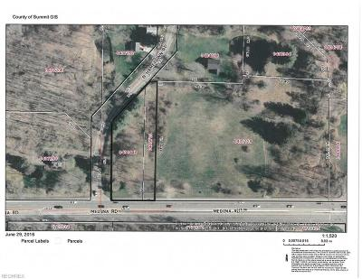 Copley Residential Lots & Land For Sale: Medina Rd