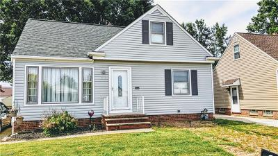 Willowick Single Family Home For Sale: 536 Dickerson Rd