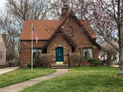 Fairview Park Single Family Home For Sale: 21474 Cromwell Ave