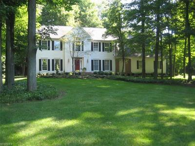 Geauga County Single Family Home For Sale: 17311 Old Tannery Trl