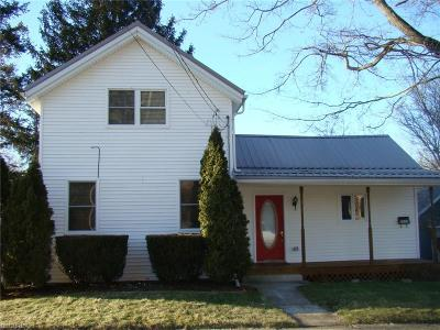 Garrettsville Single Family Home For Sale: 8025 French St
