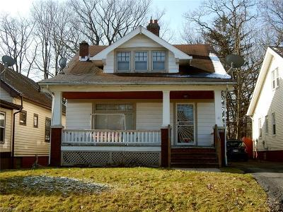 Garfield Heights Single Family Home For Sale: 13514 Alvin Ave