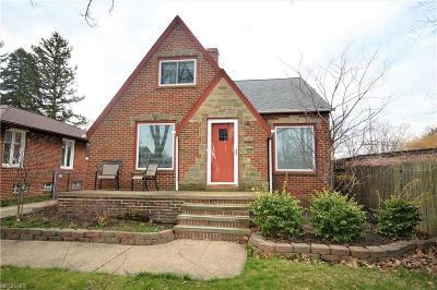Single Family Home For Sale: 15405 Fischer Rd