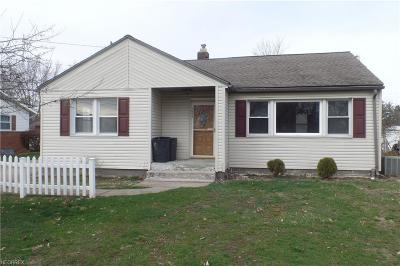 Zanesville Single Family Home For Sale: 1611 Doaks Ln