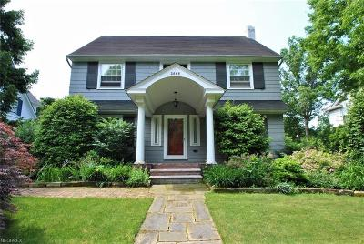 Cleveland Heights Single Family Home For Sale: 2666 Derbyshire Rd