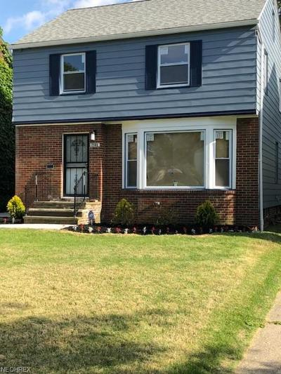 Cleveland Single Family Home For Sale: 17102 Glendale Ave