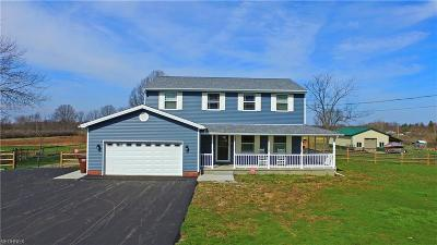 Vienna Single Family Home For Sale: 376 Niles Vienna Rd