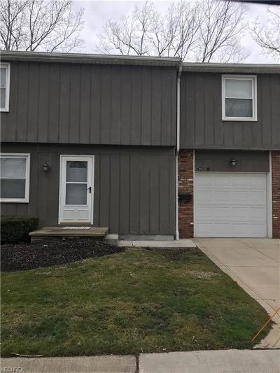 Mentor Condo/Townhouse For Sale: 6796 Kirkwood Dr