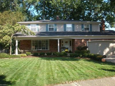 Rocky River Single Family Home For Sale: 22602 Vine Ct