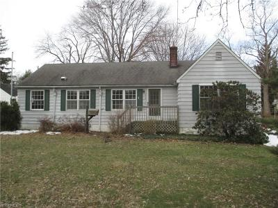 Mentor Single Family Home For Sale: 7324 Presley Ave