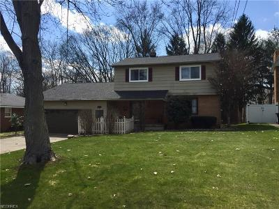 Youngstown Single Family Home For Sale: 6540 Applewood Blvd