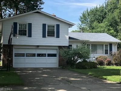 North Olmsted Single Family Home For Sale: 3392 Woodview Dr
