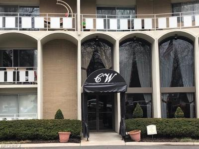 Rocky River Condo/Townhouse For Sale: 3400 Wooster Rd #209