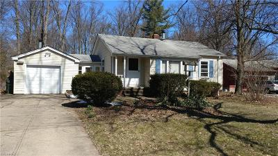 Olmsted Falls Single Family Home For Sale: 26810 Bagley Rd