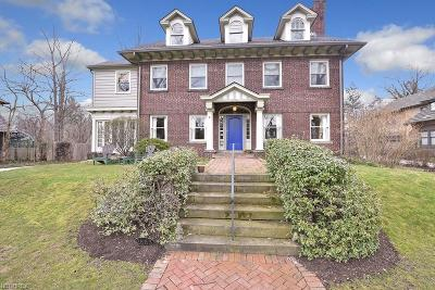 Shaker Heights Single Family Home For Sale: 2683 Leighton Rd