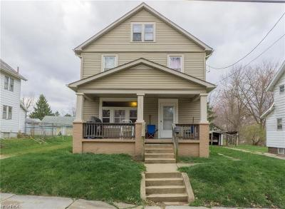 Single Family Home For Sale: 1365 Woodland Ave