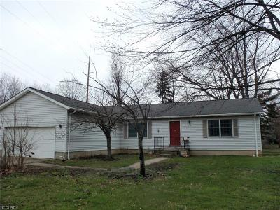Elyria Single Family Home For Sale: 1173 Gulf Rd