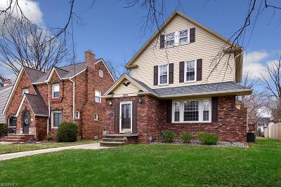 Rocky River Single Family Home For Sale: 2591 Lakeview Ave