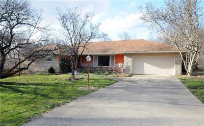 Guernsey County Single Family Home For Sale: 8813 Clinton Rd