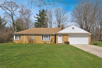 Brecksville Single Family Home For Sale: 10609 Cardinal Ln