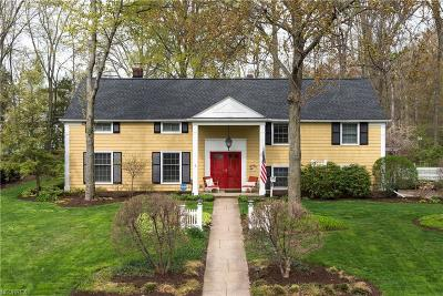 Bay Village Single Family Home For Sale: 584 Yarmouth Dr