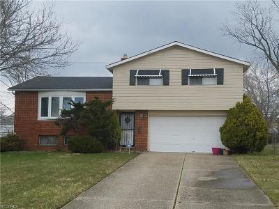 Cleveland Single Family Home For Sale: 4267 East 170th Pl