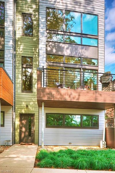Fairview Park Condo/Townhouse For Sale: 18875 Riversouth Terrace #22