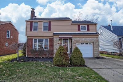 Mayfield Heights Single Family Home For Sale: 1706 Longwood Rd