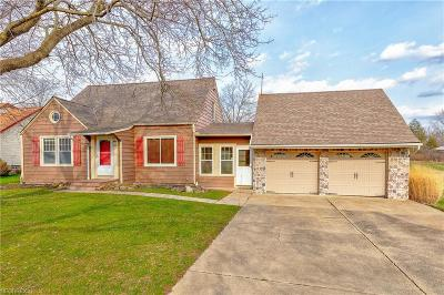 Solon Single Family Home For Sale: 5305 Brainard Rd