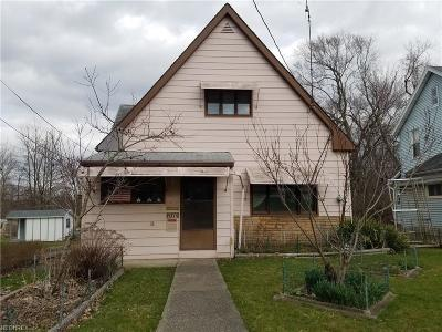 Single Family Home For Sale: 1140 South Mahoning Ave
