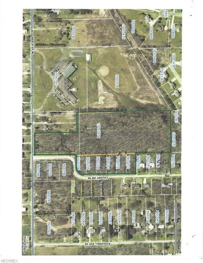 Alliance OH Residential Lots & Land For Sale: $141,750
