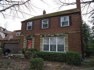 Cuyahoga County Single Family Home For Sale: 21274 Kenwood Ave