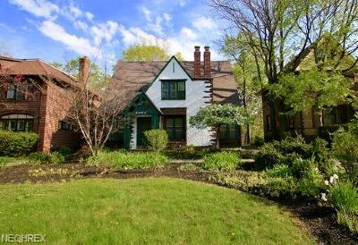 Cleveland Heights Single Family Home For Sale: 3403 Euclid Heights Blvd
