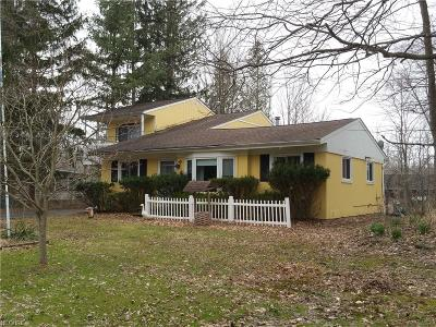 Geauga County Single Family Home For Sale: 13286 Cedar Acres Dr