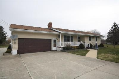 Geauga County Single Family Home For Sale: 15996 Leggett Rd