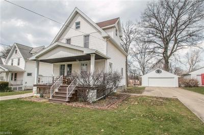 Parma Single Family Home For Sale: 1614 Lorimer Rd