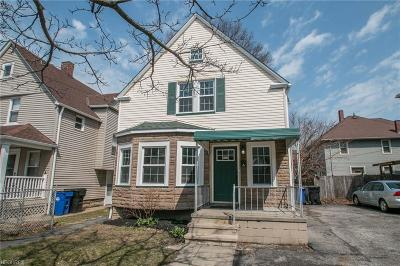 Single Family Home For Sale: 6512 Wakefield Ave