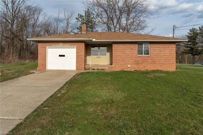Medina Single Family Home For Sale: 2805 Pearl Rd