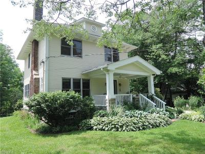 Chagrin Falls Single Family Home For Sale: 289 North St