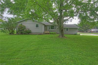 Single Family Home For Sale: 166 Case Rd