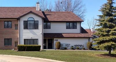 Mentor OH Condo/Townhouse For Sale: $124,500