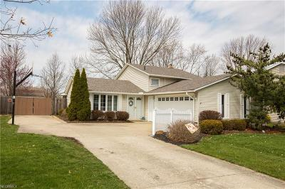 North Ridgeville Single Family Home For Sale: 5430 Manning Cir