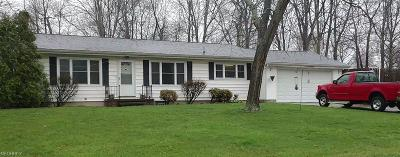 Lodi OH Single Family Home For Sale: $132,900
