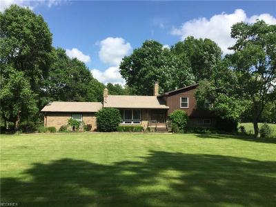 Mineral Ridge Single Family Home For Sale: 3687 Niles Carver Rd