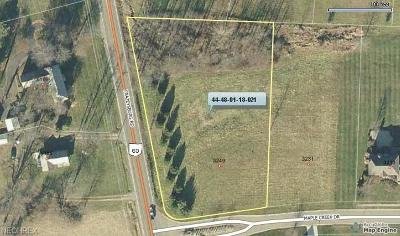 Zanesville Residential Lots & Land For Sale: Maplecreek Drive