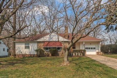 Richmond Heights Single Family Home For Sale: 4949 Geraldine Rd
