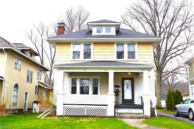 Elyria Single Family Home For Sale: 804 Park Ave
