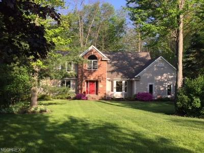 Solon Single Family Home For Sale: 6048 Chagrin Highlands Dr