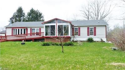Garrettsville Single Family Home For Sale: 8160 Gotham Rd